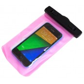 Bolsa impermeable rosa Smartphone - Inside-Pc