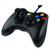 Mando Xbox360 Negro (Con cable) - Inside-Pc