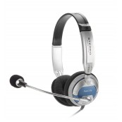 Auriculares con micro NGS MSX6PRO PLATA-NEGRO - Inside-Pc