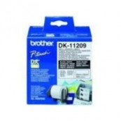 ETIQUETAS BROTHER DK11209 DIRECCION PEQ. 62X29 800 marca BROTHER - Inside-Pc