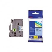 CINTA LAMINADA BROTHER TZE531 12MM x 8M AZUL/NEGRO - Inside-Pc