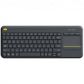 WIRELESS KEYBOARD LOGITECH K400 PLUS KEYBOARD + TOUCHPAD brand LOGITECH - Inside-Pc
