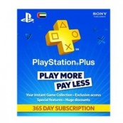 PS4 ACCESSORIES - PS3 - PS VITA - PS4 - PLAYSTATION PLUS 365 DAYS CARD - Inside-Pc