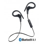 Running Earphones Sports Bluetooth + Micro Biwond Negro - Inside-Pc