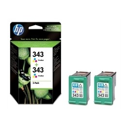 MULTIPACK TINTA HP 343 CB332EE TRICOLOR 2610 - 2710 - 325 - 370 - 8150 - 8450 - 5740 - 6520 - Inside-Pc