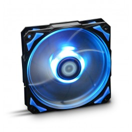 VENTILADOR 120X120 NOX HFAN 120 LED AZUL - Inside-Pc