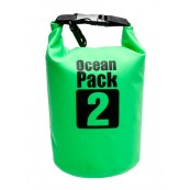 Bolsa Impermeable Ocean Pack2 Verde - Inside-Pc