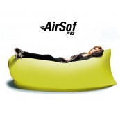 Sofá hinchable AirSof Plus Amarillo - Inside-Pc