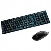 KEYBOARD + MOUSE L-LINK USB BLACK - Inside-Pc