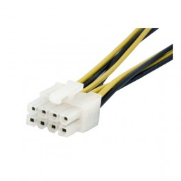 STARTECH ADAPTADOR CORRIENTE EPS 4 PINES A 8 PINES - Inside-Pc
