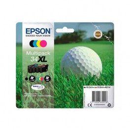CARTUCHO ORIGINAL EPSON 34XL MULTIPACK BK/Y/C/M - Inside-Pc