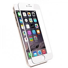PROTECTOR CRISTAL TEMPLADO IPHONE 6 PLUS - IPHONE 6S PLUS BLANCO - Inside-Pc