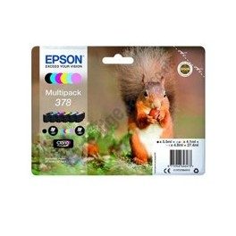 MULTIPACK TINTA EPSON T37884 6 COLORES FOTO CLARIA 378  - Inside-Pc