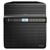 SERVIDOR NAS SYNOLOGY 4 BAY DS418J 2XUSB3.0 NEGRO - Inside-Pc