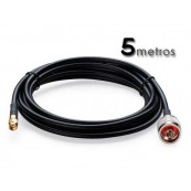 Cable Pigtail N (macho) SMA (hembra) 5M - Inside-Pc