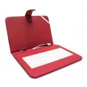 Tablet Case 8 + Keyboard Red - Inside-Pc