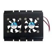 Ventilador Disco Duro Doble 4 Pin Biwond - Inside-Pc