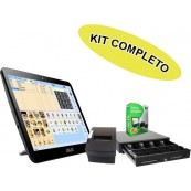 Asus Touch POS Kit Led 15.6 + W10 + Software Itactil + Cashdrawer + Ticket Printer - Inside-Pc