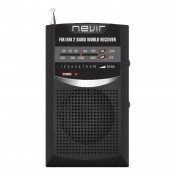 RADIO NEVIR DE BOLSILLO NVR-136 NEGRO - Inside-Pc
