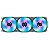 KIT OF 3 FANS MARS GAMING RGB 120MM - Inside-Pc