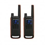 WALKIE-TALKIE MOTOROLA TLKR-T82 NEGRO PACK 2 - Inside-Pc