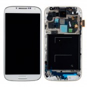 Pantalla Tactil + LCD Compatible Galaxy S4 i9500 Blanco - Inside-Pc