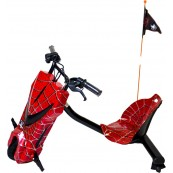 Scooter Boogie Drift Pro Spiderman - 15kmh - 3 Velocidades - Bluetooth - Inside-Pc