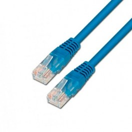 CABLE RED ETHERNET UTP CAT5E RJ45 AISENS 0.5M AZUL - Inside-Pc