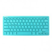 WIRELESS KEYBOARD SILVER HT COLORS TURQUOISE - Inside-Pc