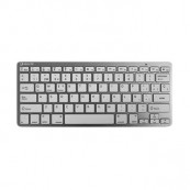 TECLADO INALÁMBRICO SILVER HT COLORS BLANCO - Inside-Pc