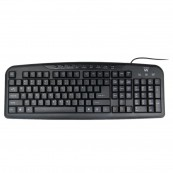 TECLADO USB MULTIMEDIA EWENT EW3125 - Inside-Pc