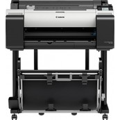 "PLOTTER CANON TM-200 IMAGEPROGRAF A1 24"" - 2400PPP - USB - RED - CAD - TINTA 5 COLORES - TÁCTIL 3"" - Inside-Pc"