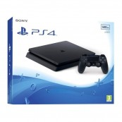 CONSOLA SONY PLAYSTATION PS4 SLIM 500GB NEGRA - Inside-Pc