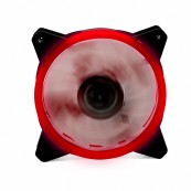 Tower Fan DOUBLE LED Red PHOENIX 12CM - 3 - 4 PINES - 1200RPM - SILENT - Inside-Pc