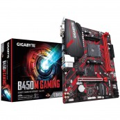 PLACA BASE AMD AM4 GIGABYTE B450M GAMING - DDR4 - VGA - DVI-D - HDMI - Inside-Pc