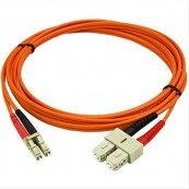 CABLE PATCH DE FIBRA 2M DUPLEX MULTIMODO 50/125 STARTTECH.COM - Inside-Pc