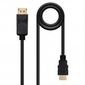 CABLE CONVERSOR DISPLAYPORT - HDMI 5M NANOCABLE - Inside-Pc