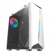 CAJA ATX MARS GAMING MCX RGB BLANCA USB3.0 - Inside-Pc