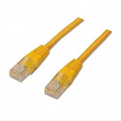 CABLE RED ETHERNET RJ45 CAT.6 AMARILLO 1M NANOCABLE - Inside-Pc