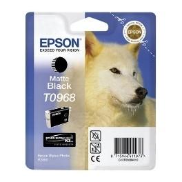CARTUCHO TINTA EPSON T0968 NEGRO MATE 11.4ML STYLUS PHOTO R2880 - Inside-Pc