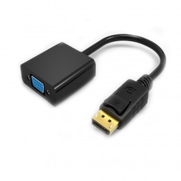 Adapter DisplayPort Male to VGA Female 30AWG ABS - Inside-Pc