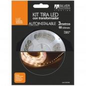 KIT TIRA LED SILVER SANZ 240328 3M - 4.8W - M - 3000K - Inside-Pc