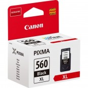 CARTUCHO TINTA CANON PG-560XL NEGRO 14.3ML 400 PAGINAS TS5350 - TS5351 - Inside-Pc