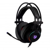 AURICULARES CON MICRÓFONO COOLBOX DEEPLIGHTING GAMING LED JACK - Inside-Pc