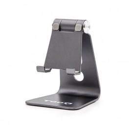 SOPORTE SMARTPHONE TABLET TOOQ DE SOBREMESA GRIS - Inside-Pc